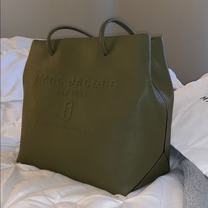Marc Jacobs Army Green Tote!